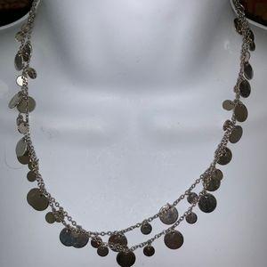 Lia Sophia Silver Tone Necklace